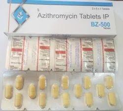 BZ-500 Azithromycin 500 mg Tablets