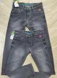 Denim Plain Men Casual Cotton Jeans, Waist Size: 28-36
