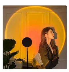 Modern/Contemporary Projection rainbow Sunset lamp, For Home