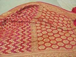 Shreeji 6.3 m (with blouse piece) Banarssi saree