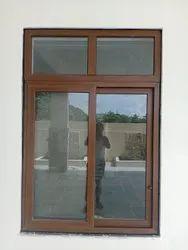 Usha Premium Quality UPVC Windows and Doors Wood Colour