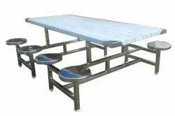 RVKE Silver Canteen Dining Table Marriage Hall, For INDUSTRIES