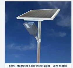 9W Lens Model Semi Integrated Solar Street Light