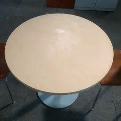 White Wooden Used Restaurant Table