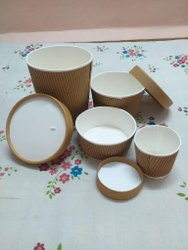 Ripple Paper Food Container