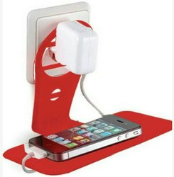 Bracket Holder Type Red Mobile Charging Stand, Size: Large, Packaging Type: Box