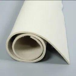 White Roll woolen Felt Namda, 1mm To 100mm