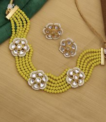 Emoxie Golden Choke Set, For Jewellery