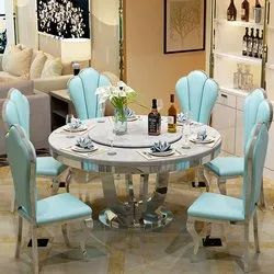Stainless steel Round Table For Banquet, Size: 4 Ft 3 Inch