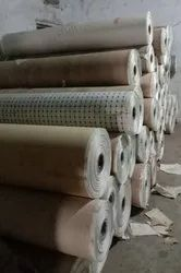Printed Grocery Paper Bags Raw Material, Packaging Type: Rolls, 40-80