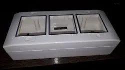Senzen Glossy 6 modular surface box