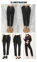 Black Plain Ladies Dry Fit Gym Wear , Girl Lower Pant , Imp Lycra Pant, Size: Free Size