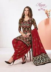 Ladies Cotton Printed Suit Mayur Ikkat Vol 7