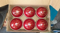 Sportsdragon T60 Leather Cricket Ball