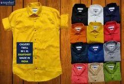 Cotton Mens Plain Shirt