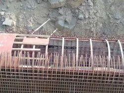 V Shape Sariya Fitter Work, For Construction