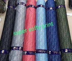Lycra Softy Print Fabric, T shirt, Multicolour