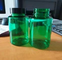 Green Pet Bottle For Capsules