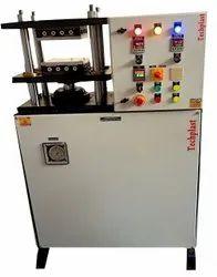 Mild Steel Hydraulic Compression Moulding Press, Capacity: 20 Ton