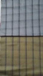 Check Shirting, 50/50s ,100% Cotton, Design No. - 715