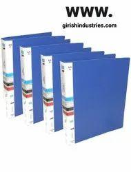 A4 Plastic Box File  (Blue)
