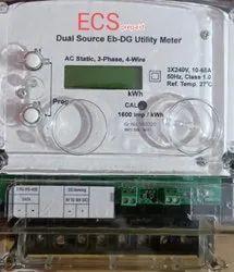 Dual Source DG Mains Meter