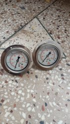 Bourdon Type Pressure Gauge