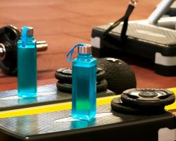 PET Square Bottles Water 3 Pcs, Use For Storage: Juice, 1 Litre