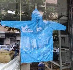 Plastic Raincoat Poncho