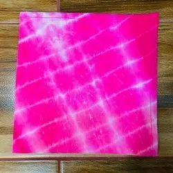 Cotton Printed tie dye handmade napkin, Size: 16*16