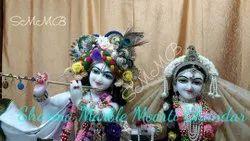Iskcon Marble Radha Krishna Statue