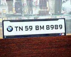 Gel number plate