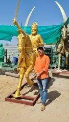 Brass Metal Statues