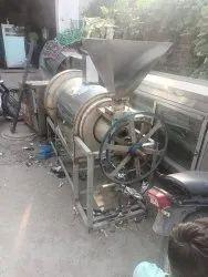 chana roasted machine 150 kg per hour