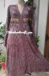 Designer Chikankari Parsigara Gown