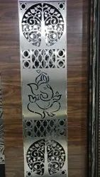 Stainless Steel Laser Cutting Door Grill