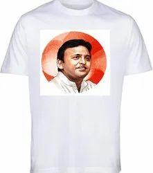 Samajwadi Party Election T-Shirt 120 GSM Customized T-Shirt Election Campaign T-Shirt