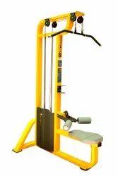 Mild Steel Gym Lat Pull Down Machine