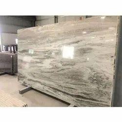 Polished Designer Granite Slab, For Flooring