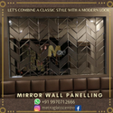 Mirror Wall Paneling