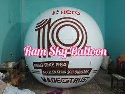 Advertising balloon for hero in jaipur