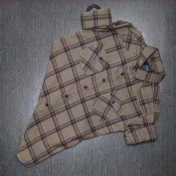 Double Pocket Checks Shirt