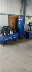 5 hp air compressor with dryer