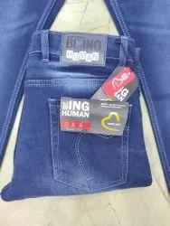 Denim Plain Mens Casual Jeans, Waist Size: 28-36