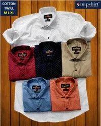 Cotton Men Party Wear Printed Shirt