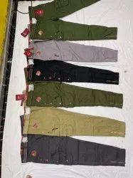 Plain Mens Cargo Pants