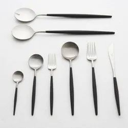 Silver Stainless Steel Cutlery, For Kitchen