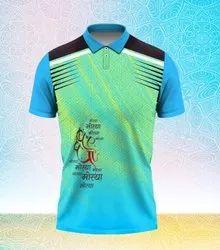 Polyester Customization Ganapati T Shirts