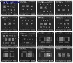 Mobile IC Reballing Stencils