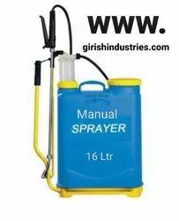 Manual Agriculture sprayer 16 Ltr